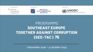 RAI & UNODC mark the launch of the new joint Regional SEE-TAC Programme