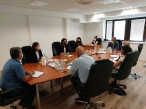 RAI Secretariat meeting with the State Commission for Prevention of Corruption of North Macedonia