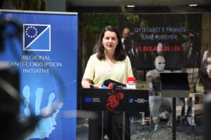 """Third RAI's """"Whistle for the End"""" Public Awareness Guerrilla Event"""
