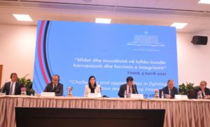 """Head of Secretariat partook in the High-Level Conference on """"Challenges and opportunities in fighting corruption and fostering integrity"""", July 5, 2021"""
