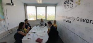 RAI Secretariat representatives visit the Secretariat of the Integrative Internal Security Governance