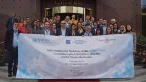 Multi-Stakeholder Workshop on the United Nations Convention against Corruption (UNCAC) and its Review Mechanism took place on 20-22 September, 2021.
