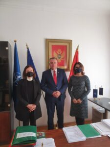 RAI Secretariat's working visit to Montenegro