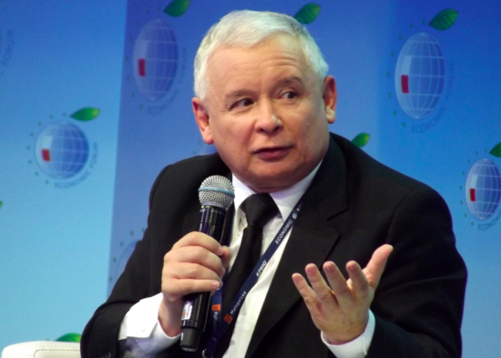 Jaroslaw Kaczynski, leader of the ruling Law and Justice party