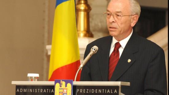 Nicolae Vacaroiu President, Court of Accounts